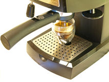 Creatore & caffè del caffè espresso Fotografia Stock