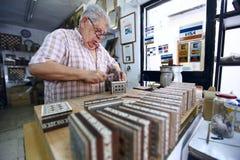 Creatore della scheda di scacchi Fotografia Stock Libera da Diritti