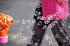 Creatore di bolla immagini stock