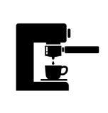 Creatore di caffè Fotografia Stock Libera da Diritti