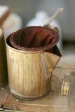 Creatore di caffè antico Fotografia Stock