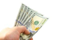 Creatore di soldi veloce Fotografia Stock