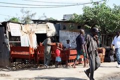 Creatori del letto mombasa Fotografia Stock Libera da Diritti