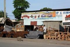 Creatori della mobilia mombasa Fotografie Stock Libere da Diritti