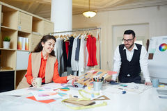 Creators of fashion Stock Photography