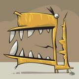 Creatura con la grande bocca Fotografia Stock