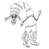Creatura del mostro di vettore royalty illustrazione gratis