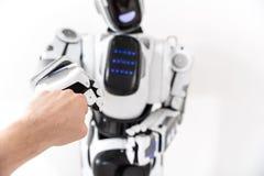 Creatura di robotica delle tecnologie moderne Immagine Stock