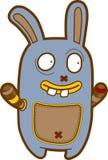 Creatura divertente del fumetto - scarabocchio emozionale del mostro Fotografie Stock
