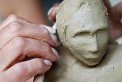 Creazione della scultura Fotografia Stock Libera da Diritti