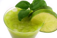 CrEaZy CoCkTaIl LiMe Royalty Free Stock Photo