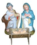 Creche figurenes Stock Images