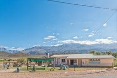 Creche in Zoar. ZOAR, SOUTH AFRICA - MARCH 25, 2017: A creche in Zoar, a village in the Western Cape Province royalty free stock photography