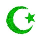 Creciente del Islam imagen de archivo libre de regalías