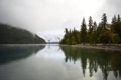Creciente del lago Imagenes de archivo