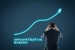 Crecimiento administrativo de la carga imagen de archivo