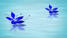 Crecimiento animado floral stock de ilustración
