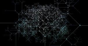 Crecimiento de comercialización de Digitaces como concepto de la tecnología del negocio stock de ilustración