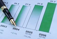 Crecimiento de las ventas Foto de archivo