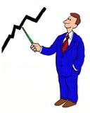 Crecimiento de las ventas Foto de archivo libre de regalías
