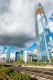 Crecimiento de una ciudad sostenible Fotografía de archivo