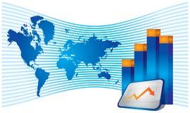 Crecimiento económico ilustración del vector