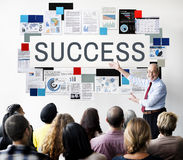 Crecimiento excelente Victory Concept del logro del éxito Foto de archivo