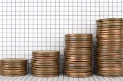 Crecimiento financiero Foto de archivo libre de regalías