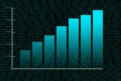 Crecimiento financiero Imagenes de archivo