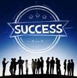 Crecimiento Victory Concept del desarrollo de la meta del éxito Imágenes de archivo libres de regalías
