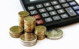 Crecimiento y ahorros financieros Imagen de archivo libre de regalías