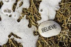 Credi in l'arrivo della primavera Fotografie Stock