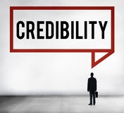 Credibility Partnership Determination Inspiration Concept Stock Photography