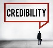 Credibility Partnership Determination Inspiration Concept.  Stock Photography