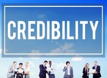 Credibility Partnership Determination Inspiration Concept.  Royalty Free Stock Photos