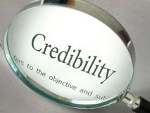 The word Credibility Stock Photos