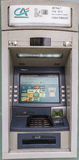 Credit Agricole ATM Machine. In Credit Agricole bank in Geneva, Switzerland Royalty Free Stock Images