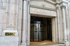 Credit Agricole bank. Branch in Geneva, Switzerland Royalty Free Stock Image