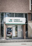 Credit Agricole bank Stock Photos