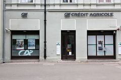 Credit Agricole Stock Image