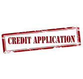 Credit application Royalty Free Stock Images