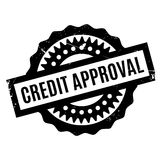 Credit Approval rubber stamp Stock Photos