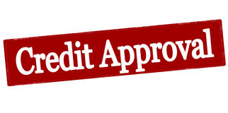 Credit approval Stock Images
