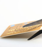 Credit card. Overdraft and lifestyle Stock Photos