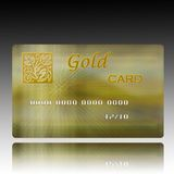 Credit card. An illustration of a credit Platinum Card Stock Images