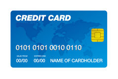 Credit card Royalty Free Stock Photos