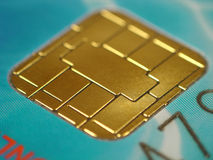 Credit card. New credit card close up Royalty Free Stock Photo