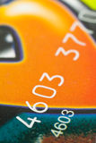 Credit Card. Close to colour full credit card Stock Image