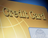 Credit card Royalty Free Stock Images