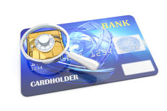 Credit card. With chip. Hi-res digitally generated image Stock Photo